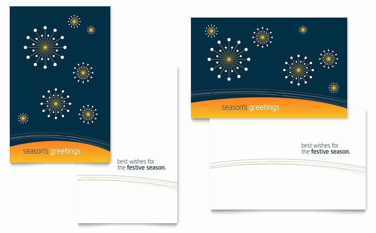 Greeting Card Template Word Elegant Free Greeting Card Template Download Word & Publisher