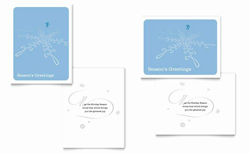 Greeting Card Template Word Inspirational Free Greeting Card Template Microsoft Word & Publisher