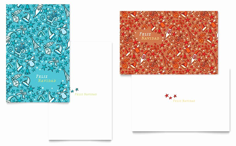 Greeting Card Template Word Luxury Christmas Confetti Greeting Card Template Word & Publisher