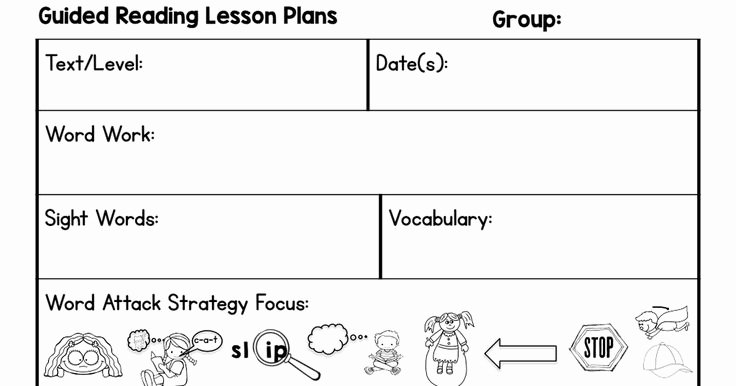 Guided Reading Template Pdf Awesome Best 25 Guided Reading Template Ideas On Pinterest