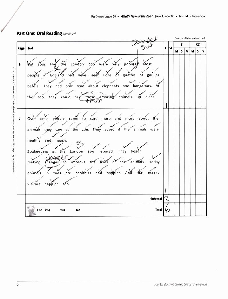 Guided Reading Template Pdf Best Of 5 Fountas and Pinnell Guided Reading Lesson Plan Template