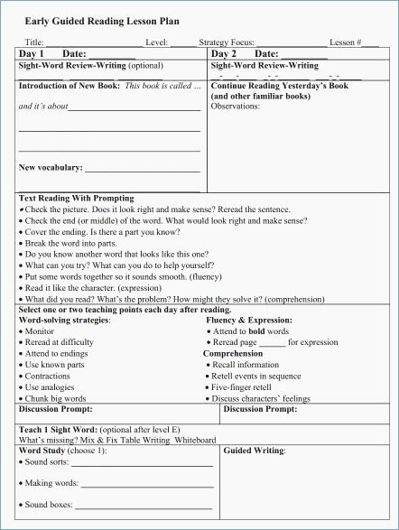 Guided Reading Template Pdf Best Of Jan Richardson Guided Reading Powerpoint