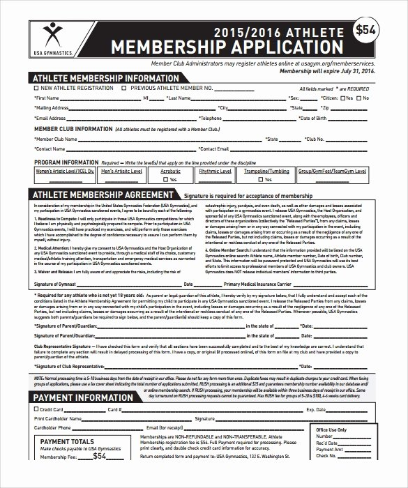 Gym Membership Contract Template Awesome 11 Gym Contract Templates to Download for Free