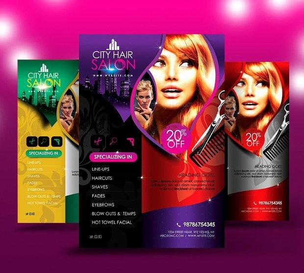 Hair Flyers Free Template Beautiful 27 Hair Salon Flyer Templates Printable Psd Ai Vector
