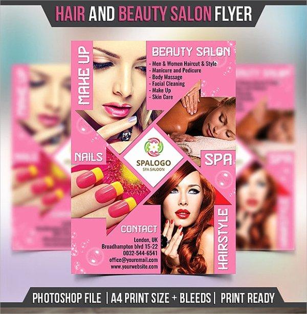 Hair Flyers Free Template Elegant 21 Beauty Salon Flyer Templates