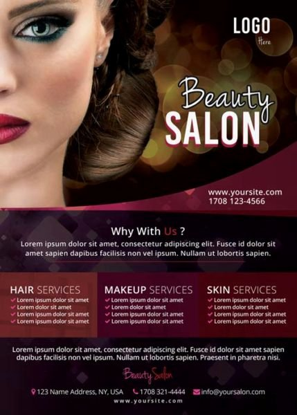 Hair Flyers Free Template Elegant Download the Free Beauty Salon Flyer Template for Shop
