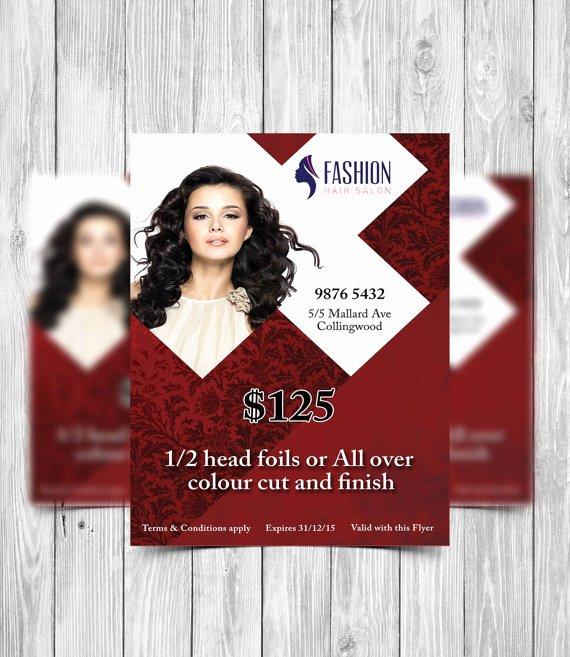 Hair Flyers Free Template Elegant Printable Flyer Template Hair Salon Flyer Beauty Salon Flyer