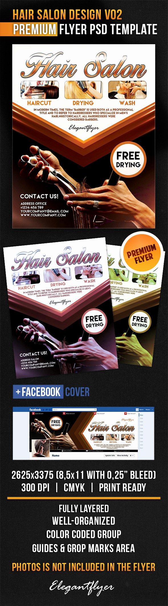 Hair Flyers Free Template Inspirational 12 Hair Salon Flyer Psd Hair Salon Flyer