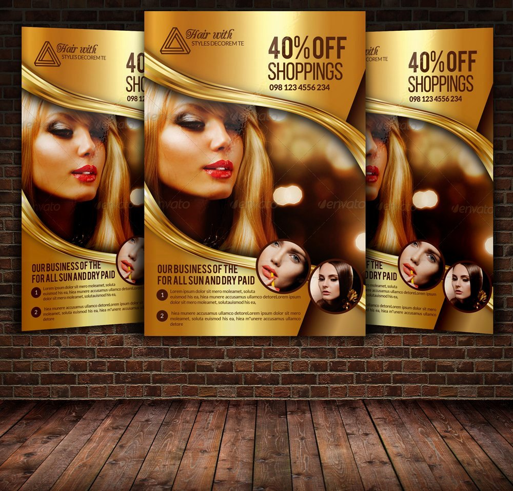 Hair Flyers Free Template Inspirational Hair Salon and Beauty Care Flyer Flyer Templates