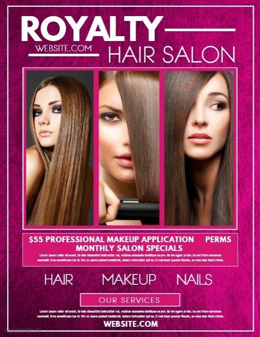 Hair Flyers Free Template Lovely Copy Of Hair Salon