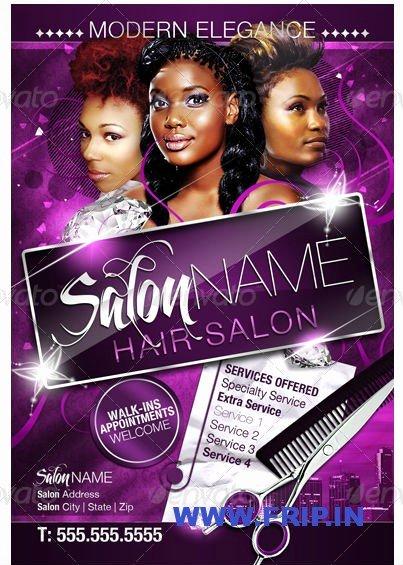 Hair Flyers Free Template Luxury 12 Hair Salon Flyer Psd Hair Salon Flyer