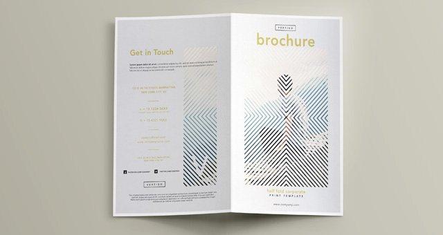 Half Fold Brochure Template Fresh Vertigo Bi Fold Brochure Template