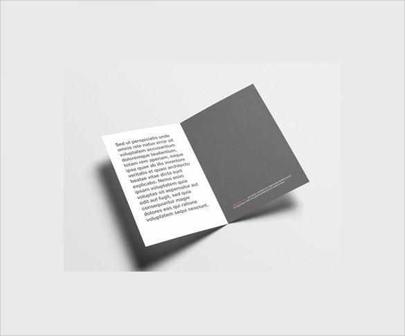 Half Fold Brochure Template Lovely 26 Half Fold Brochures
