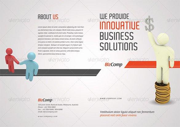 Half Fold Brochure Template Luxury 36 Half Fold Brochure Templates