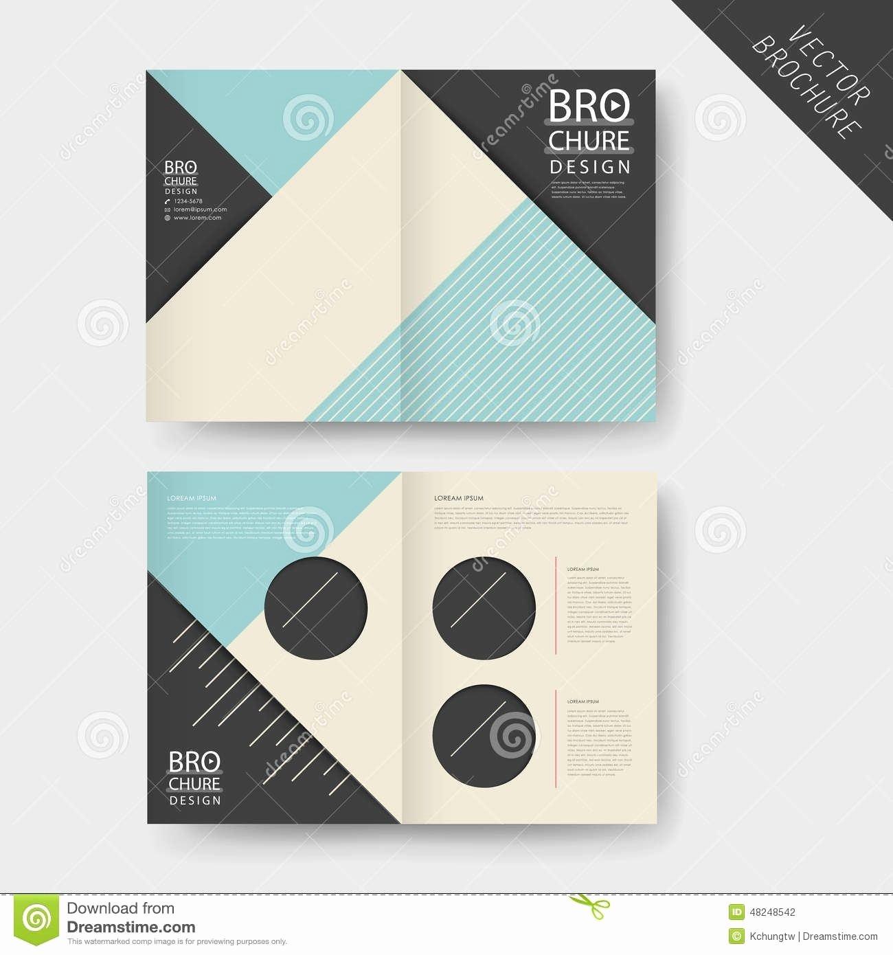 Half Fold Brochure Template New Half Page Brochure Template Reeviewer
