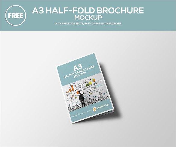 Half Fold Brochure Template Unique 26 Half Fold Brochures