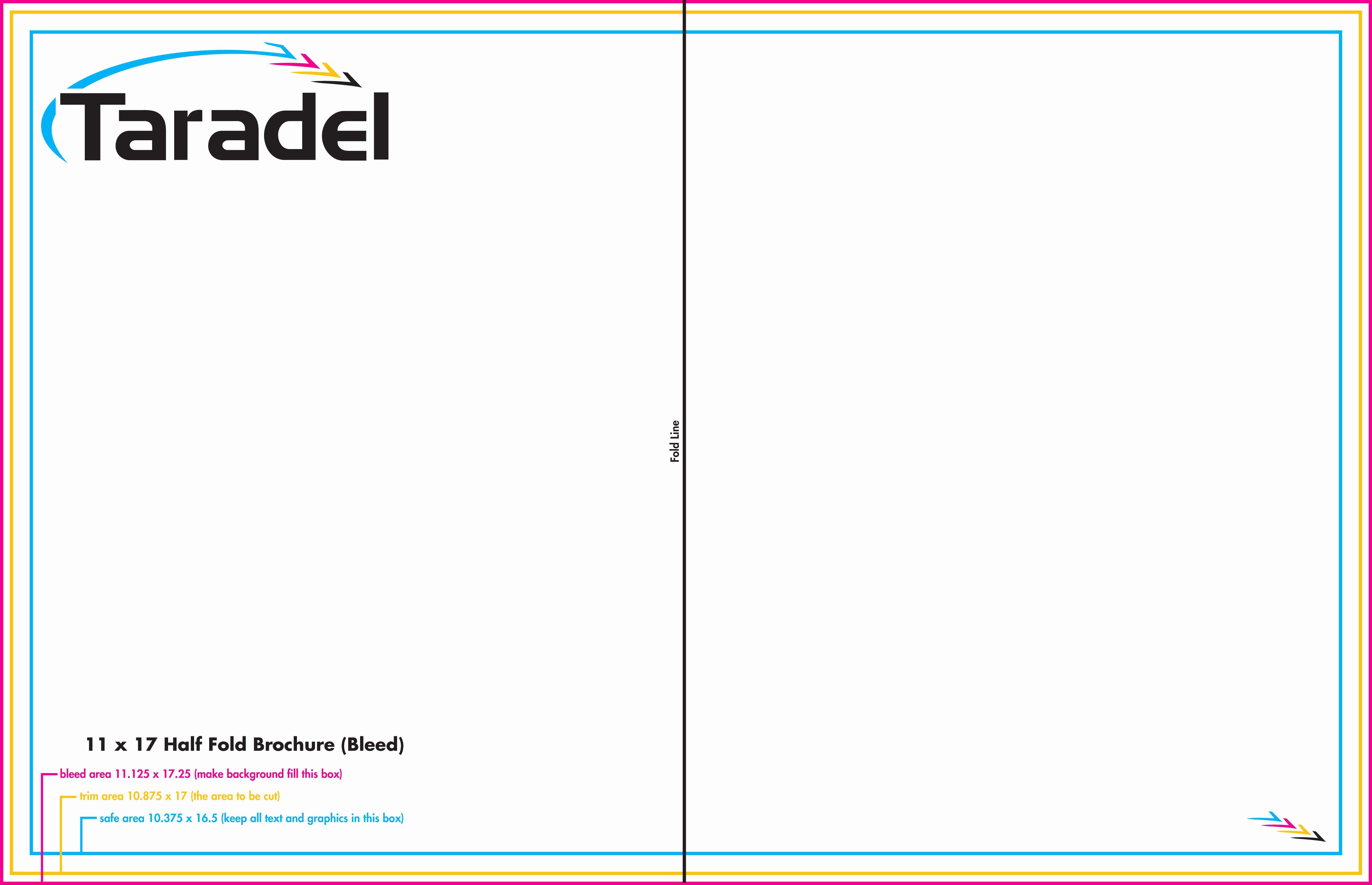 Half Fold Program Template Fresh 7 Best Of 11x17 Brochure Template 11x17 Half Fold