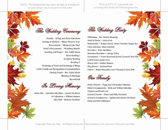 Half Fold Program Template Lovely Best 20 Wedding Programs Wording Ideas On Pinterest