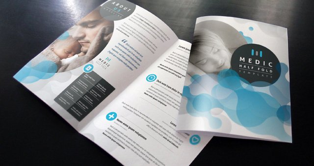 Half Page Brochure Template Best Of Medic Bi Fold Brochure Template Brochure Templates