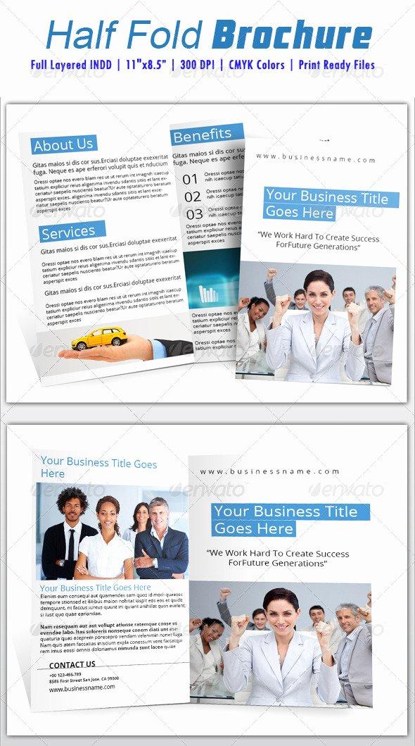 Half Page Brochure Template Elegant Printable Half Sheet Calendar Dondrup