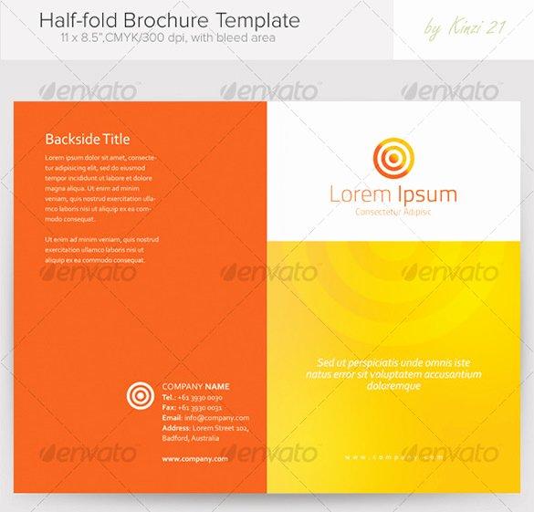 Half Page Brochure Template Inspirational Half Page Brochure Template Half Page Brochure Template 26