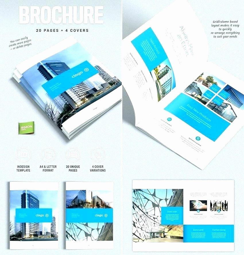 Half Page Brochure Template Unique Elegant E Page Brochure Template Pics Awesome Design