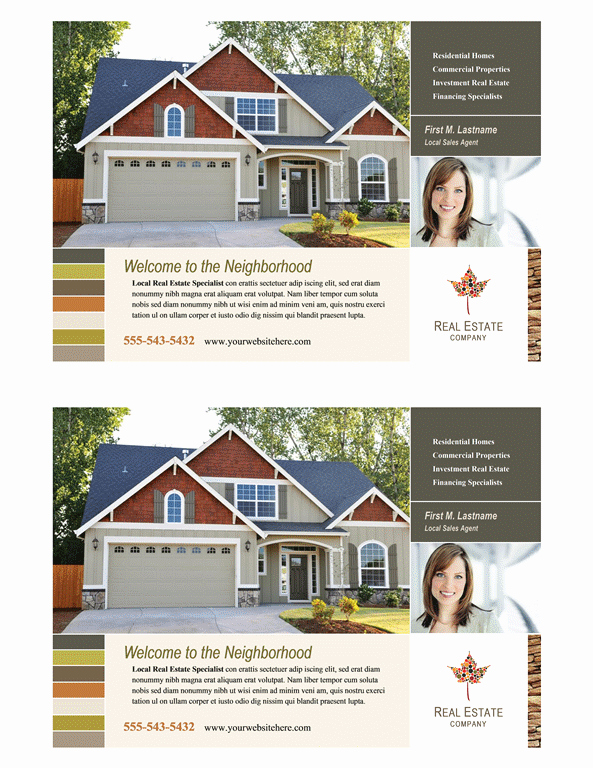 Half Page Flyer Template Lovely Download Real Estate Flyer Half Page Free Flyer