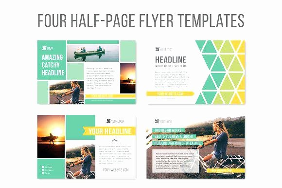 Half Sheet Flyer Template Awesome Half Page Senior Yearbook Ads Templates Quarter Ad