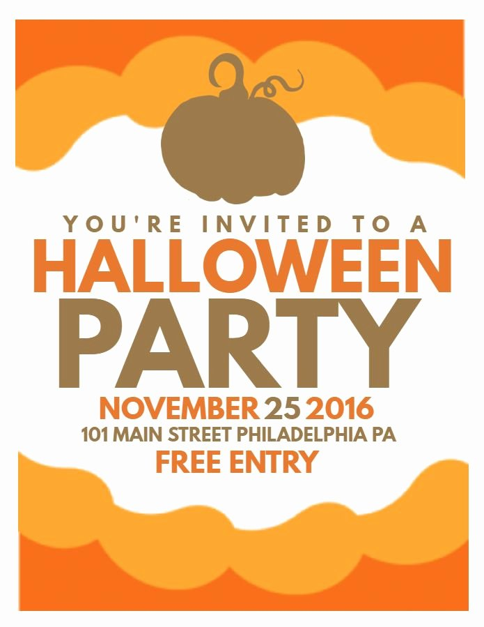 Halloween Flyer Template Free Awesome 63 Best Halloween Party Flyer Templates Images On