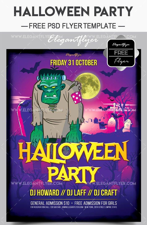 Halloween Flyer Template Free Beautiful 60 Premium & Free Psd Halloween Flyer Templates