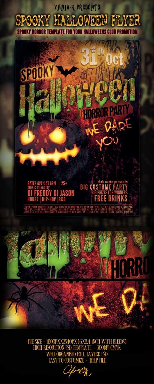 Halloween Flyer Template Free Beautiful Download Unique Halloween Flyer Templates