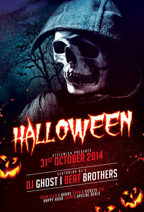 Halloween Flyer Template Free Beautiful Halloween Flyer by Stylewish On Deviantart