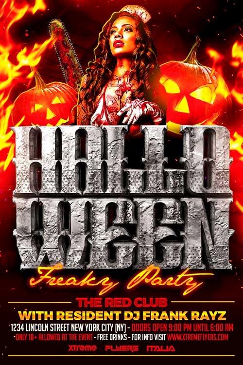Halloween Flyer Template Free Elegant 60 Premium & Free Psd Halloween Flyer Templates