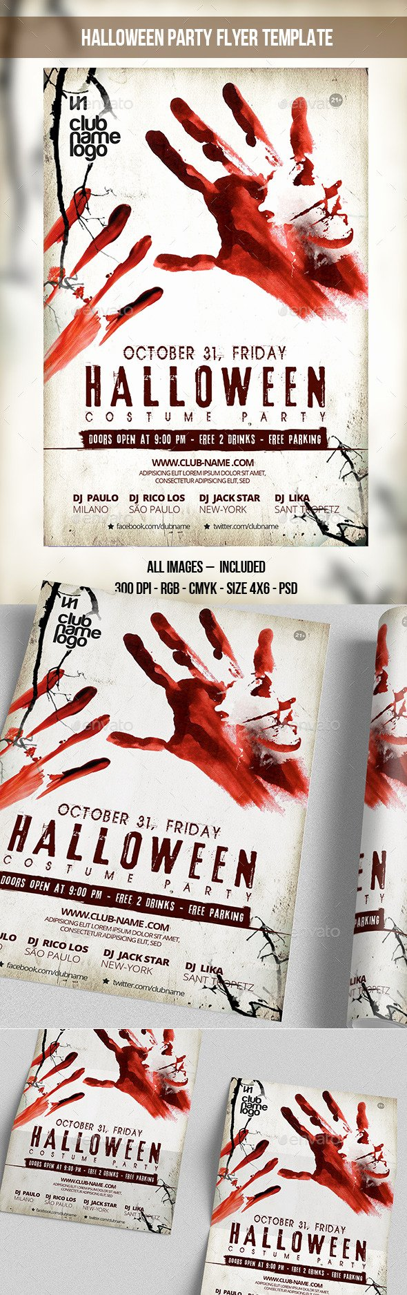 Halloween Party Flyer Template Beautiful Halloween Party Flyer Template