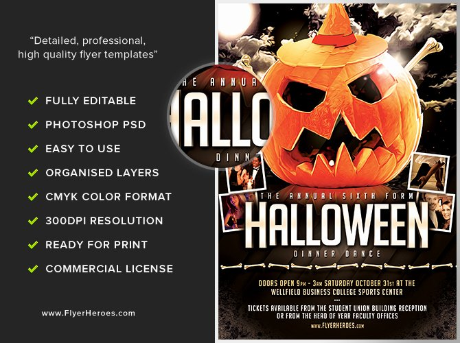 Halloween Party Flyer Template Best Of Halloween Party Flyer Template 8 15 the Pumpkin 2