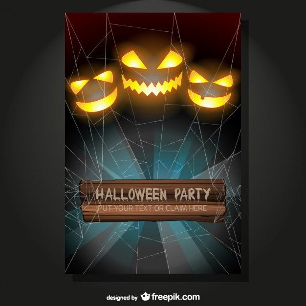 Halloween Party Flyer Template Inspirational Halloween Party Flyer Vector