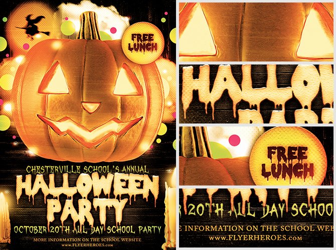 Halloween Party Flyer Template New Halloween Party Flyer Template 4 15 the Pumpkin