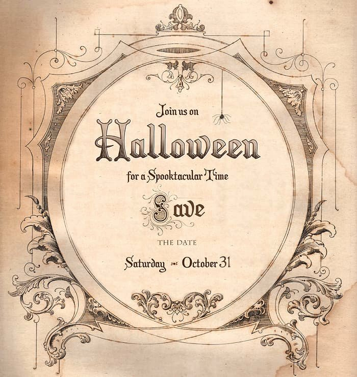 Halloween Party Invitations Template Beautiful Save the Date for Halloween Free Download Living Locurto