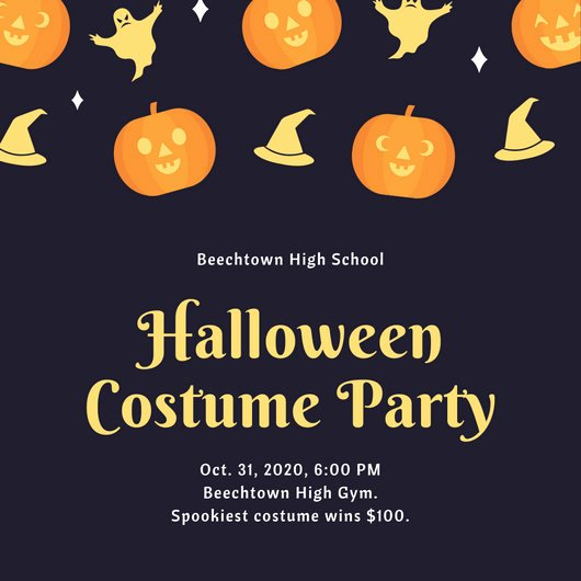 Halloween Party Invitations Template Fresh Customize 3 999 Halloween Party Invitation Templates