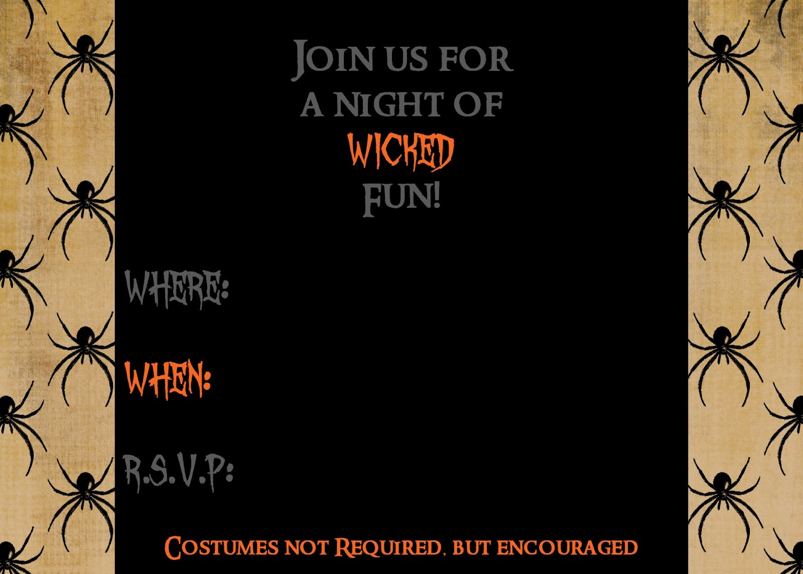 Halloween Party Invitations Template Lovely Secrets Of A Modern Mama Free Printable Halloween