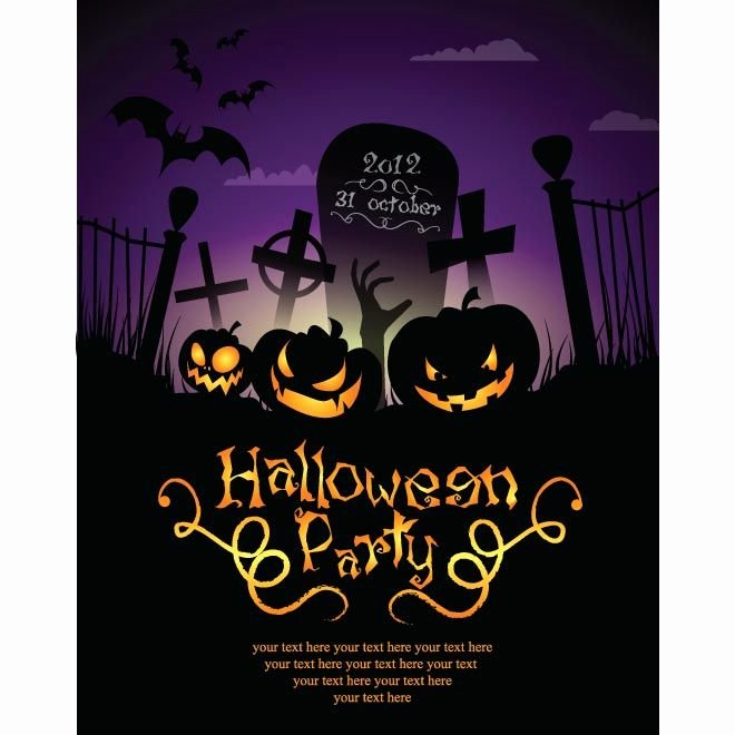 Halloween Party Invitations Template Luxury Free Halloween Party Invitation Templates Google Search