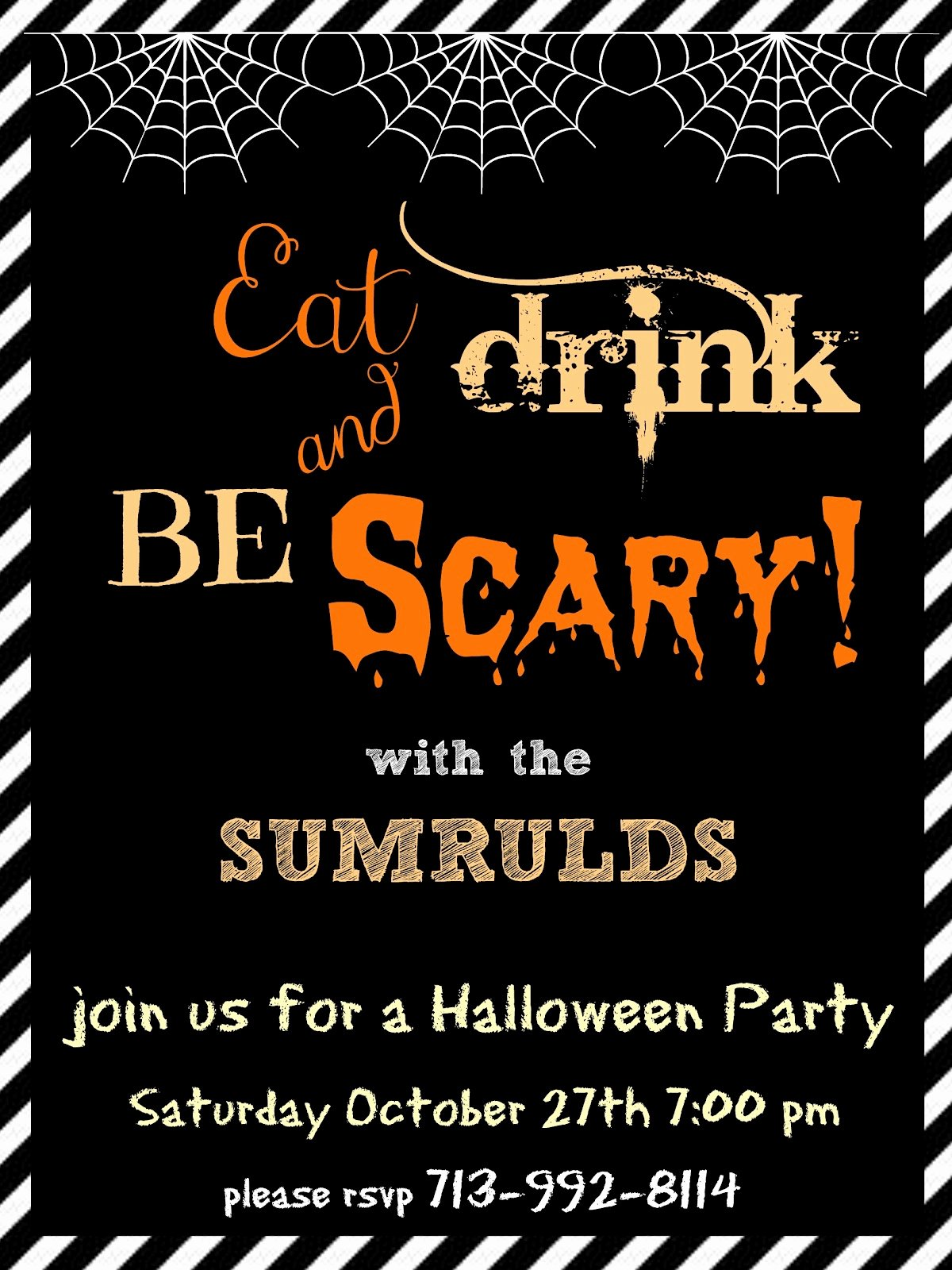 Halloween Party Invitations Template New Halloween Party Invitations Templates – Festival Collections
