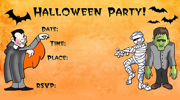 Halloween Party Invitations Template Unique 16 Awesome Printable Halloween Party Invitations
