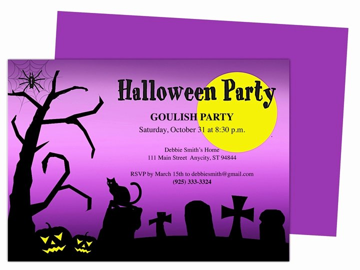 Halloween Party Invitations Template Unique 32 Best Images About Halloween Party Invitations Diy