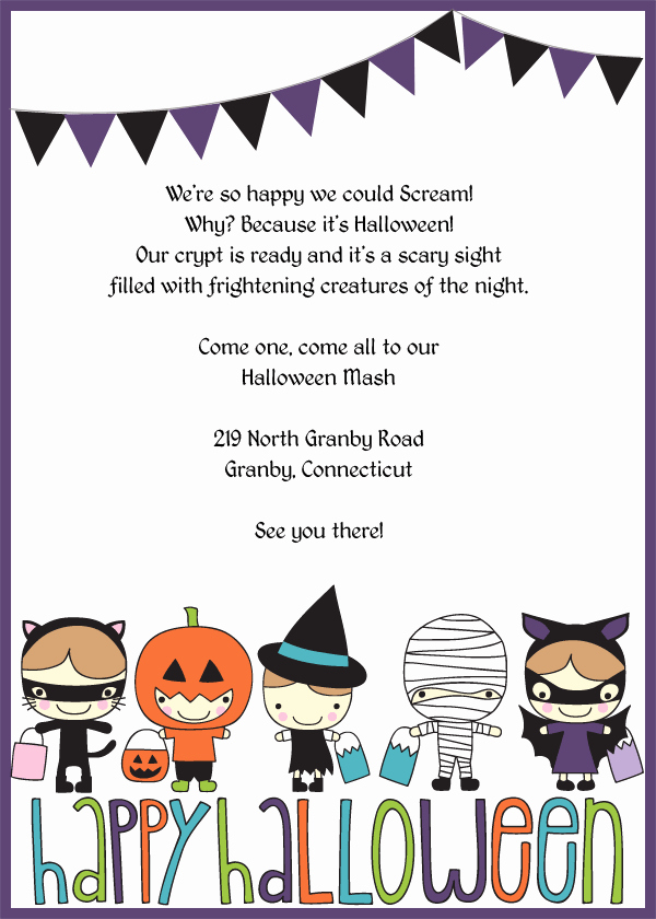 Halloween Party Invite Template Beautiful Halloween Invitation Templates