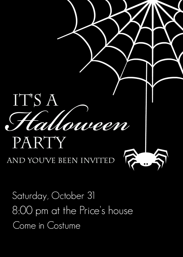 Halloween Party Invite Template Elegant Free Printable Halloween Party Invitations Yellow Bliss Road