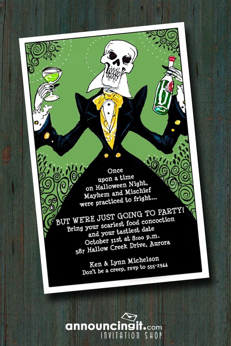 Halloween Party Invite Template Lovely Best 25 Adult Halloween Invitations Ideas On Pinterest