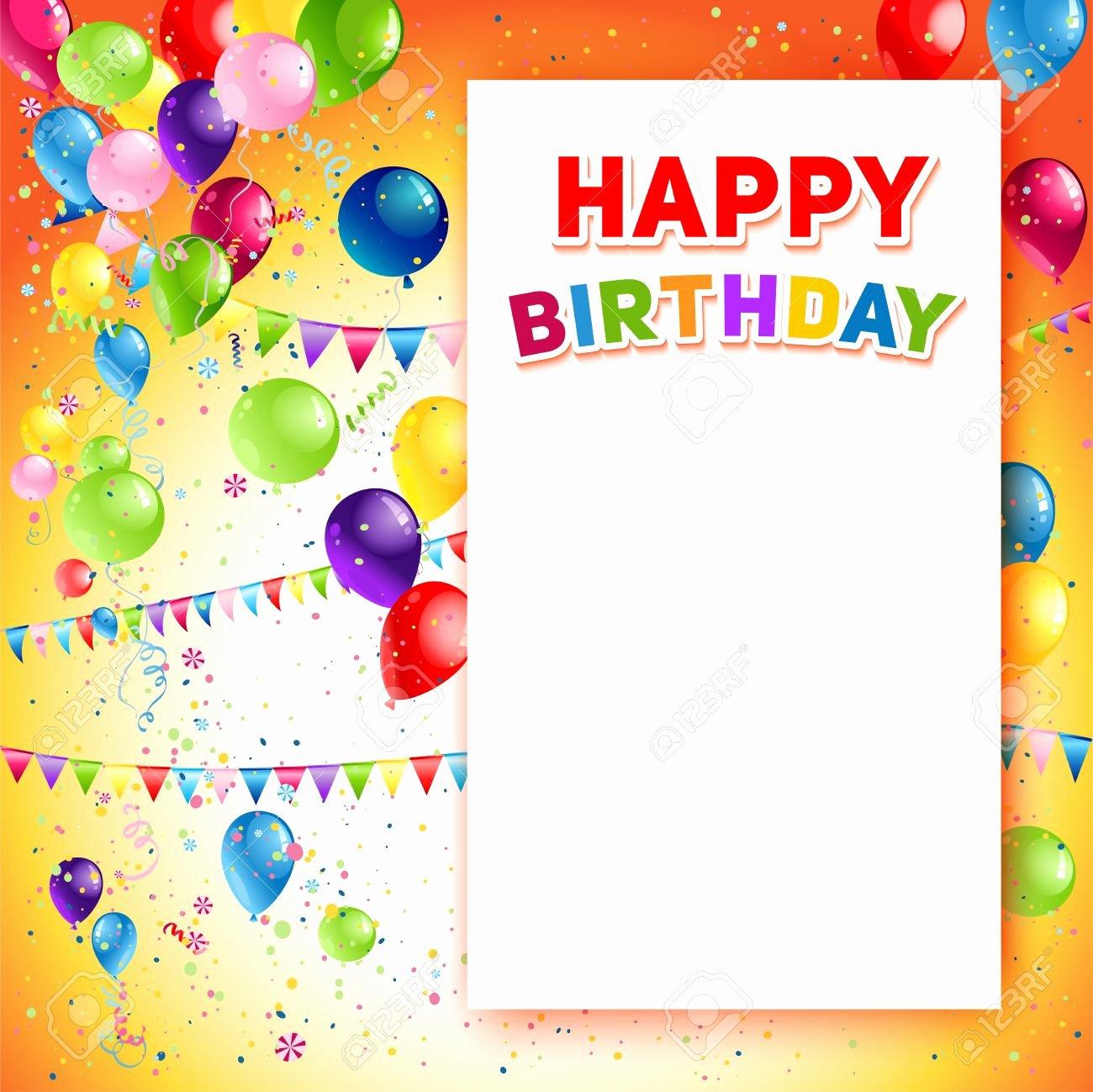 Happy Birthday Banner Template Elegant Birthday Poster Design Template – Best Happy Birthday Wishes