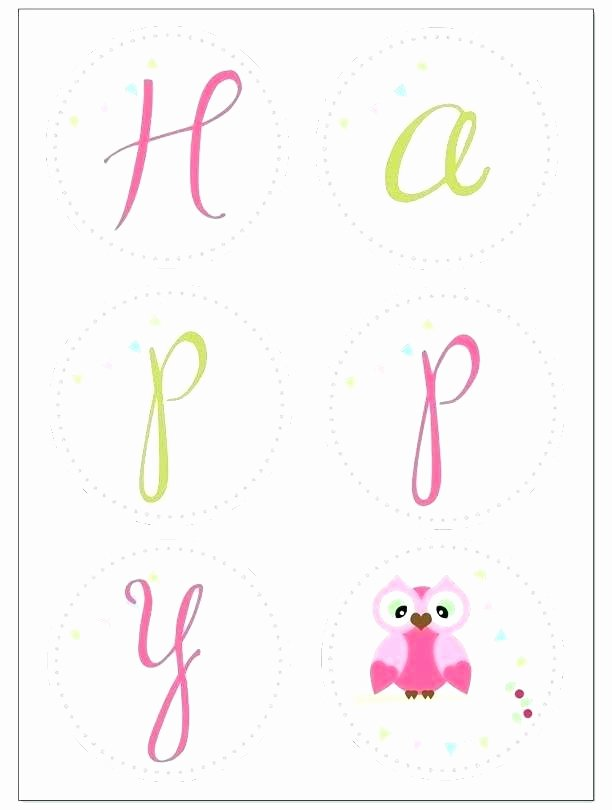 Happy Birthday Banner Template Inspirational Free Happy Birthday Banner Template Printable Banners