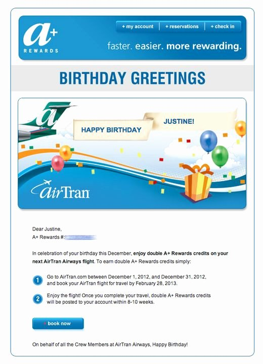 Happy Birthday Email Template Beautiful 15 Best Birthday Email Templates Images On Pinterest